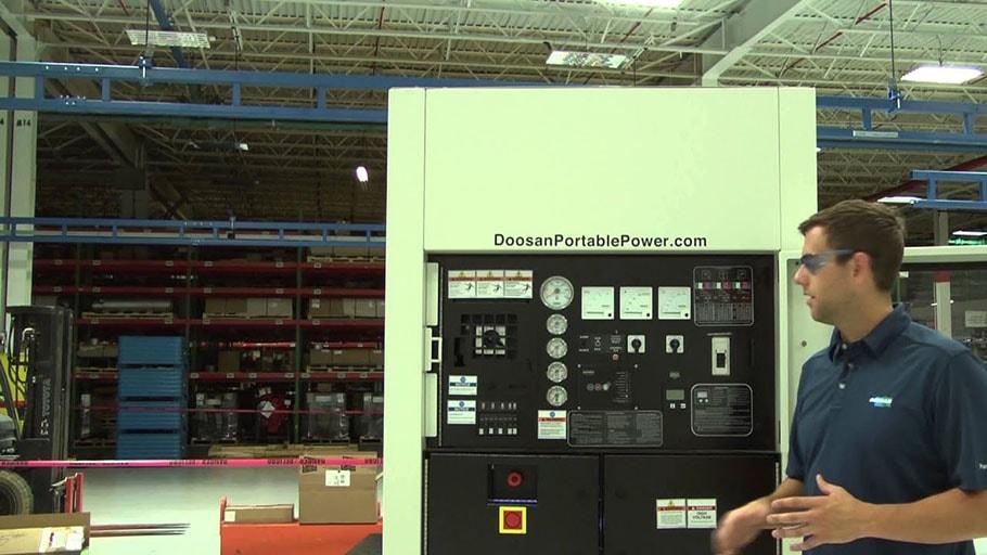 Hệ thống bảng điều khiển doosan