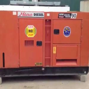 Máy phát điện 150kVA động cơ Hino
