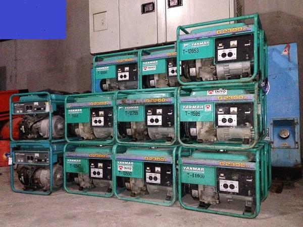 Máy phát điện chạy dầu 5kva cũ