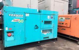 Máy phát điện Yanmar cũ và những vấn đề cần lưu ý